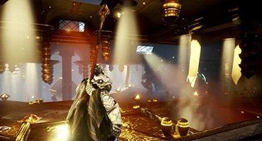 PS5动作游戏《神陨》内部预告曝光 场景华丽战斗酷炫