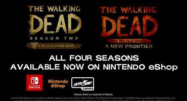 《行尸走肉》系列重新上架Steam商店 第二、第三季登陆Switch