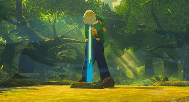 绿帽子就是主角?玩家自制《塞尔达荒野之息》路易基MOD