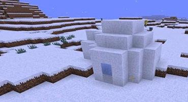 我的世界极地小屋在哪里 雪屋位置分享