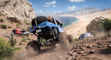 《极限竞速:地平线5》新情报 地貌、道路对比介绍