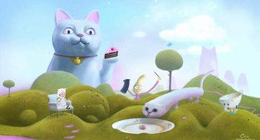 《喵喵乐园的凯蒂》Demo免费试玩上线 steam版年末推出